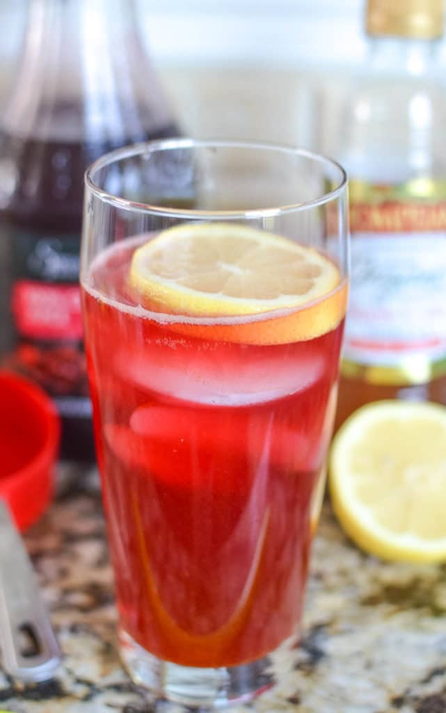 Sparkling Cranberry Turmeric Detox | Cranberry Apple Cider Vinegar Drink