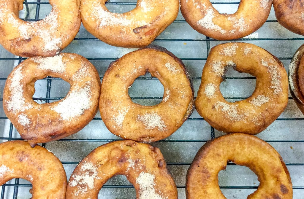Pumpkin Spice Fried Apple Rings Recipe How to Make Fried Apple Rings