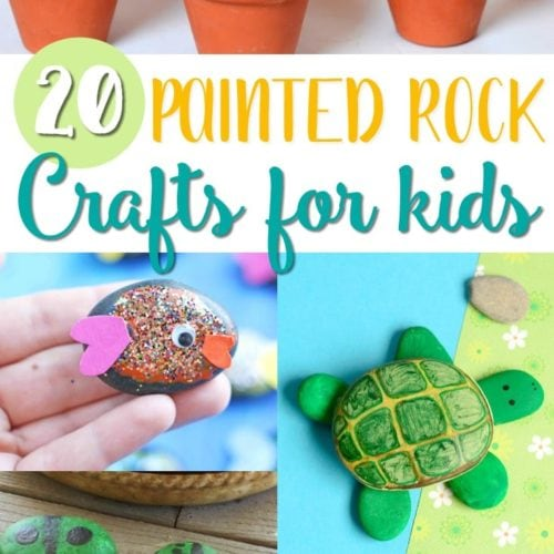 painted rock crafts for kids painted rock ideas