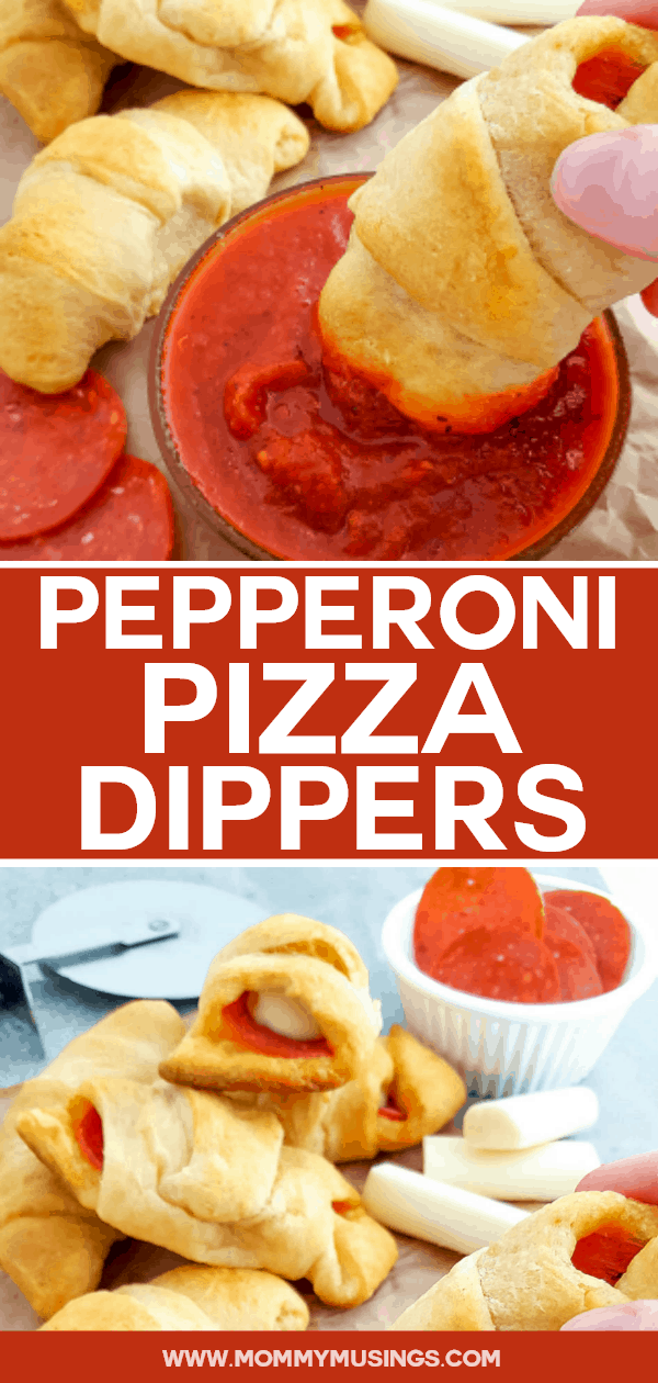 Pizza Dippers - Crescent Roll Pizza