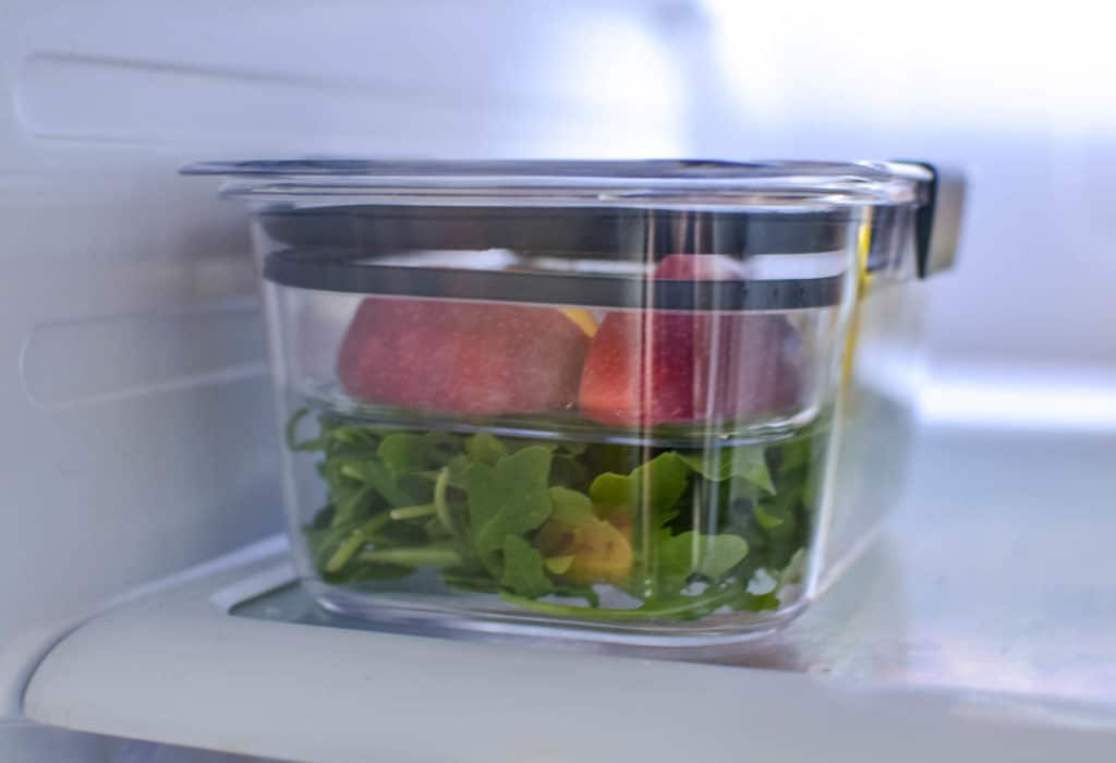 RubbermaidBRILLIANCE storage containers
