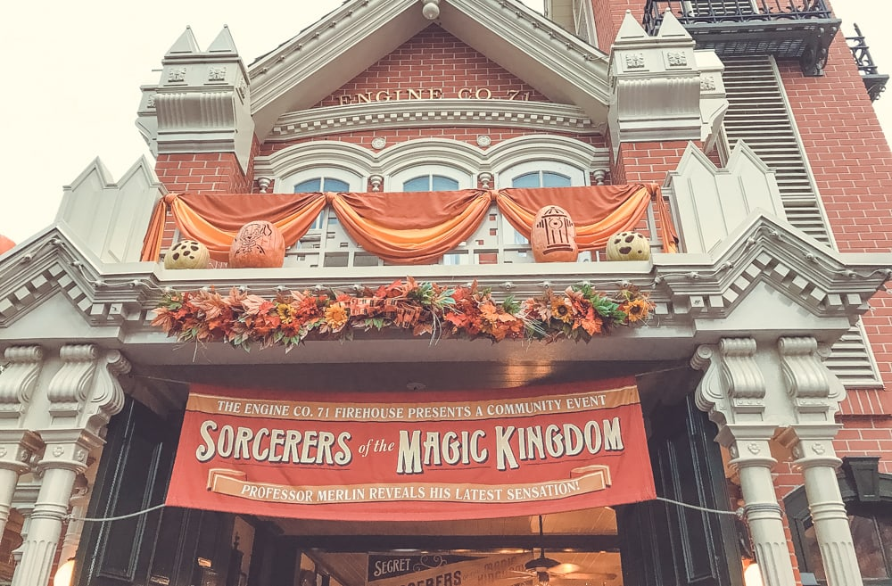 sorcerers of the magic kingdom Mickey's not so scary halloween party