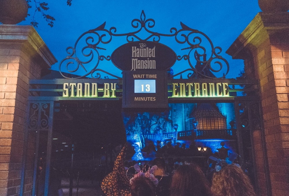 Mickey's Not So Scary Halloween Party ride times
