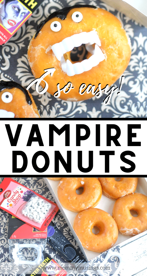 vampire donuts for halloween