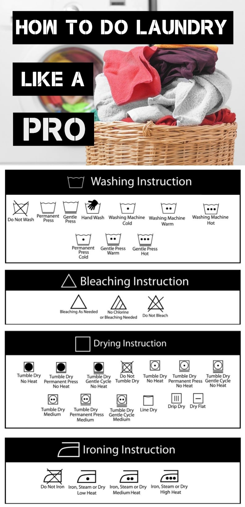 how to do laundry like a pro