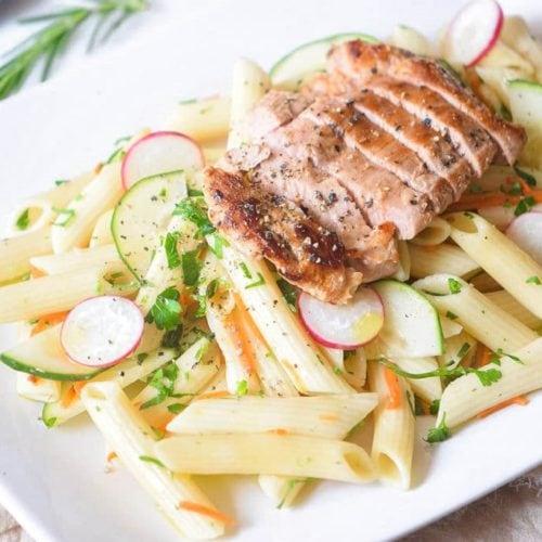 easy leftover turkey pasta recipe
