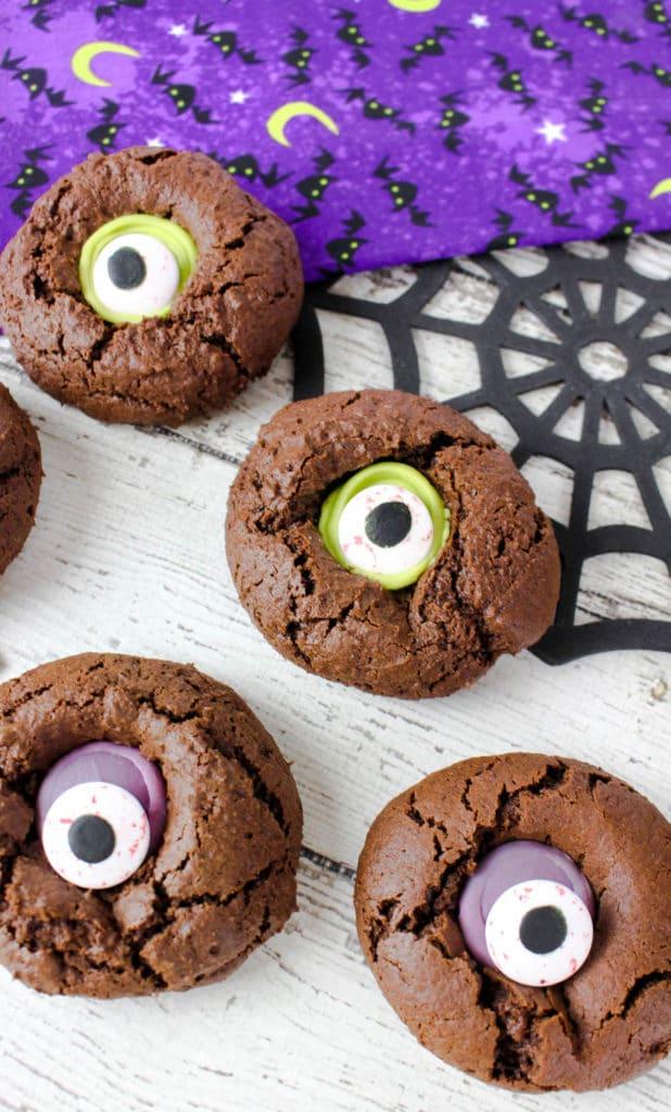Monster Eye Cookies Halloween