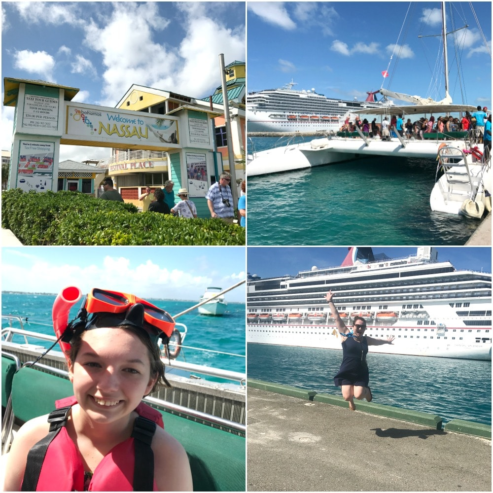 nassau bahamas cruising carnival splendor