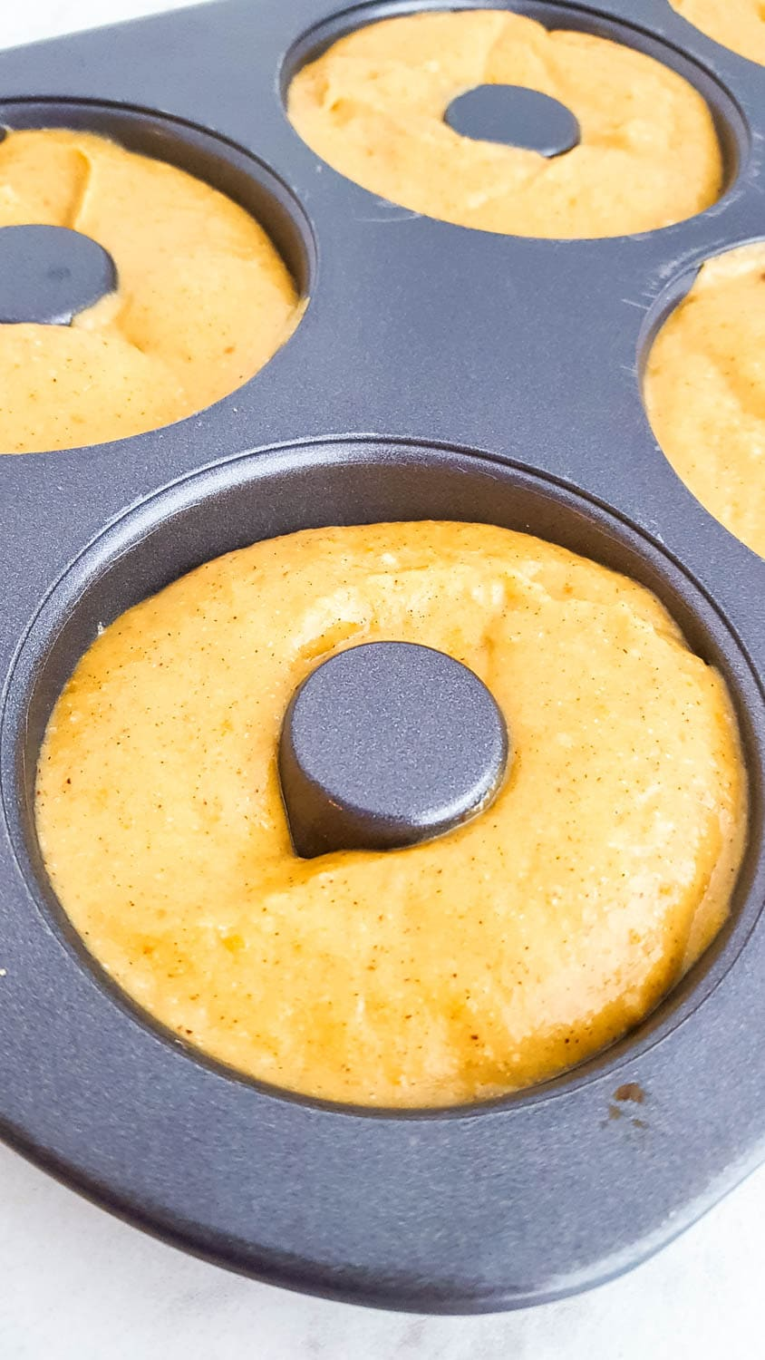 Healthy Baked Pumpkin Donuts recipe