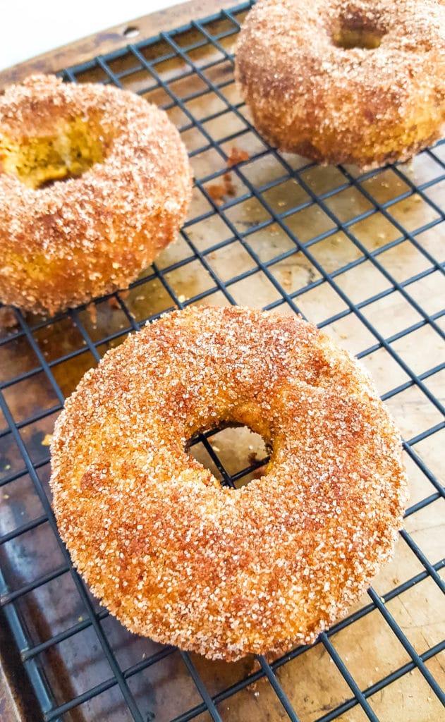 Gluten Free Pumpkin Sugar and Spice Donuts Recipe