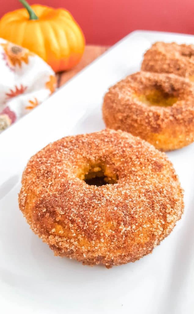 Gluten-Free Pumpkin Spice Donuts Recipe | Baked Pumpkin Donuts