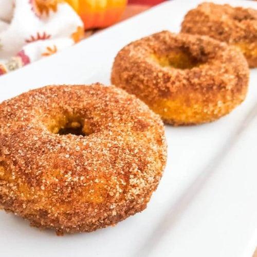 gluten-free pumpkin spice donuts recipe