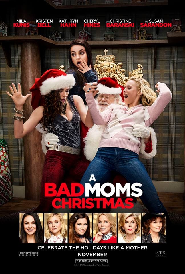 a bad moms Christmas interview