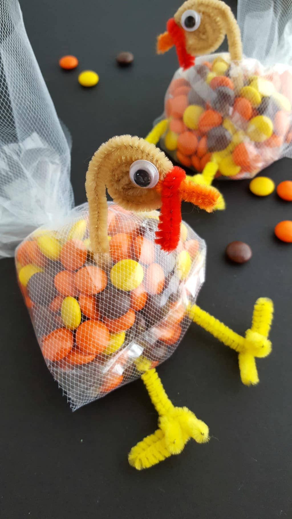 Thanksgiving Turkey Treat Bags Turkey Candy Bags