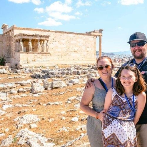 family travel athens