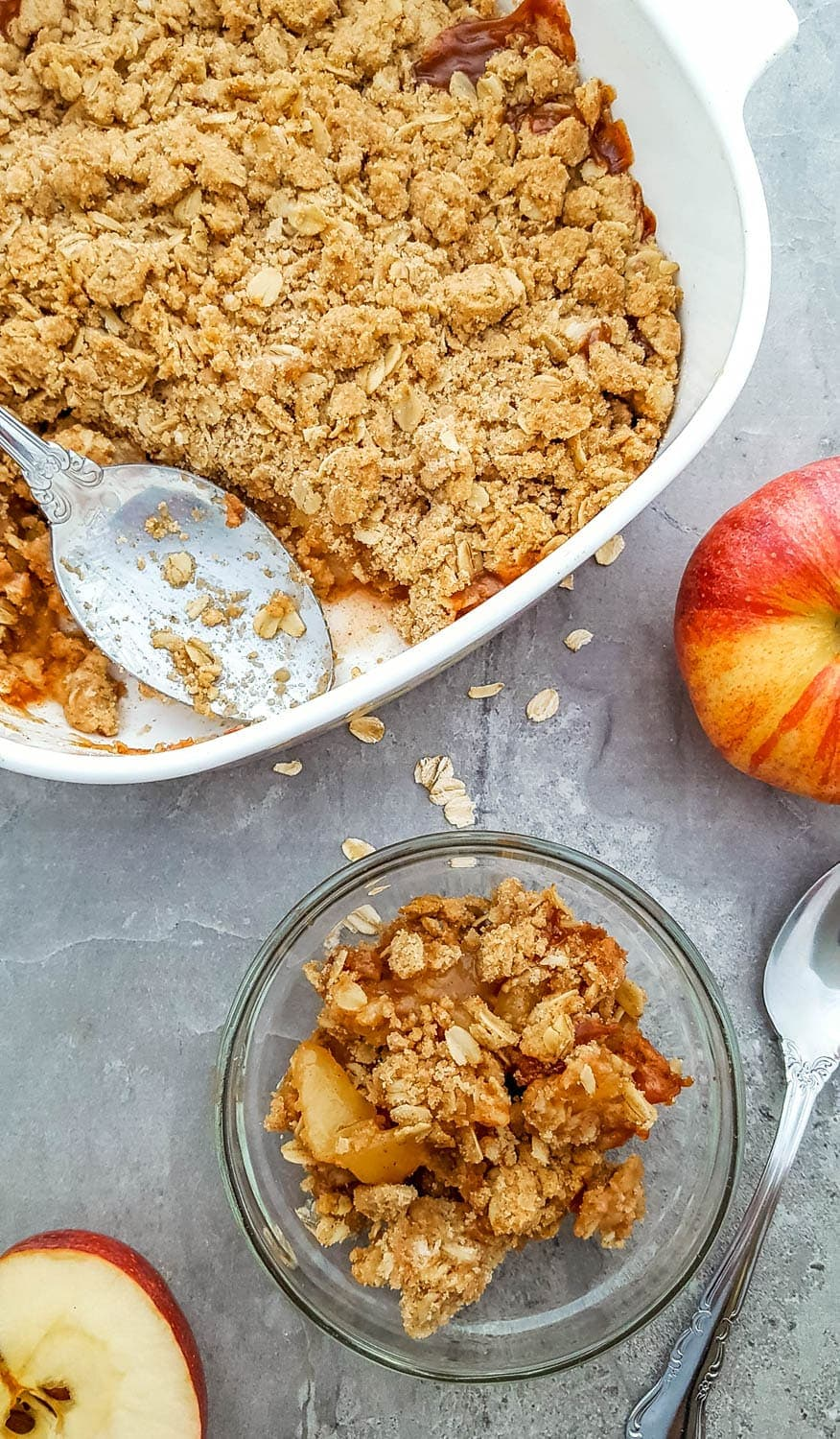 gluten-free easy apple crisp recipe