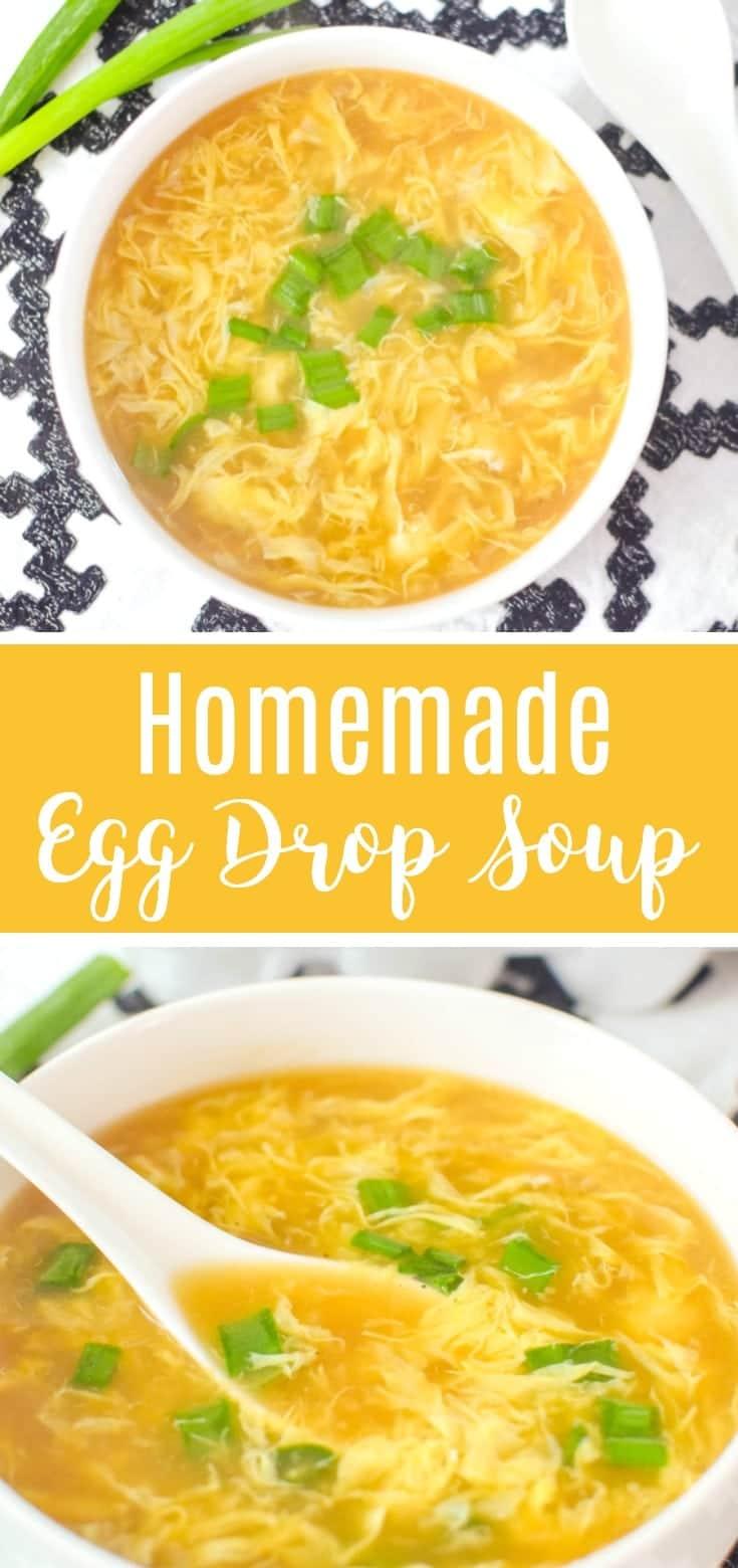 homemade egg drop soup recipe