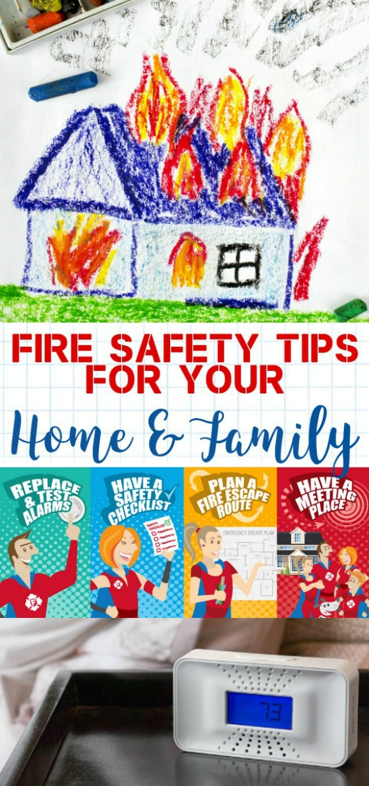 fire safety tips for your home family