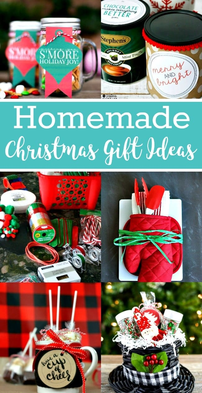 Christmas homemade candy gift ideas