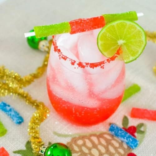 Sour Candy Margarita Mocktail