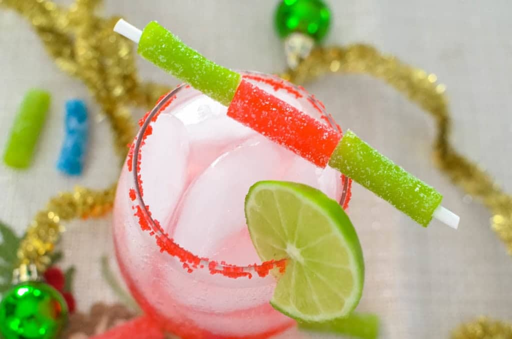 Sour Candy Margarita Mocktail recipe