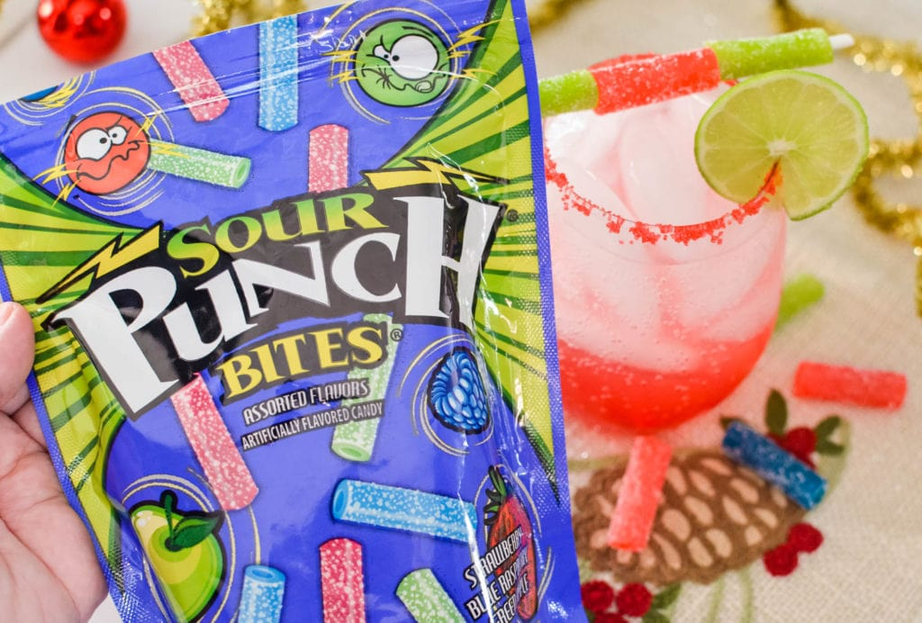 Sour Punch Bites Mocktail recipe