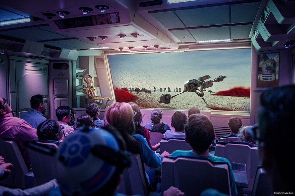 Star Tours – The Adventure Continues disneyland