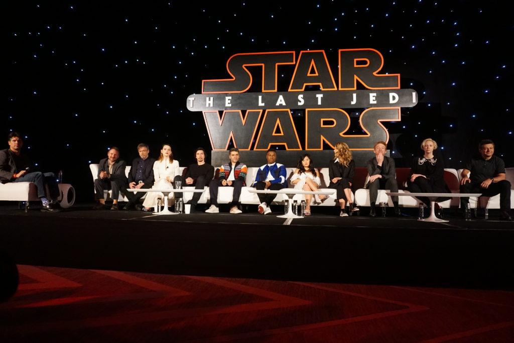 Star Wars the last Jedi interview