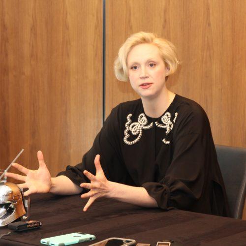 captain phasma Gwendoline Christie