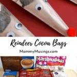 DIY Reindeer Hot Chocolate Bags