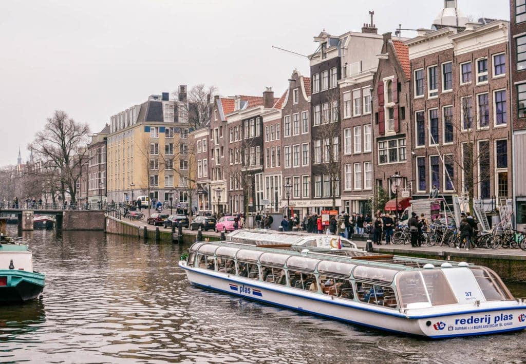 Amsterdam canal family travel