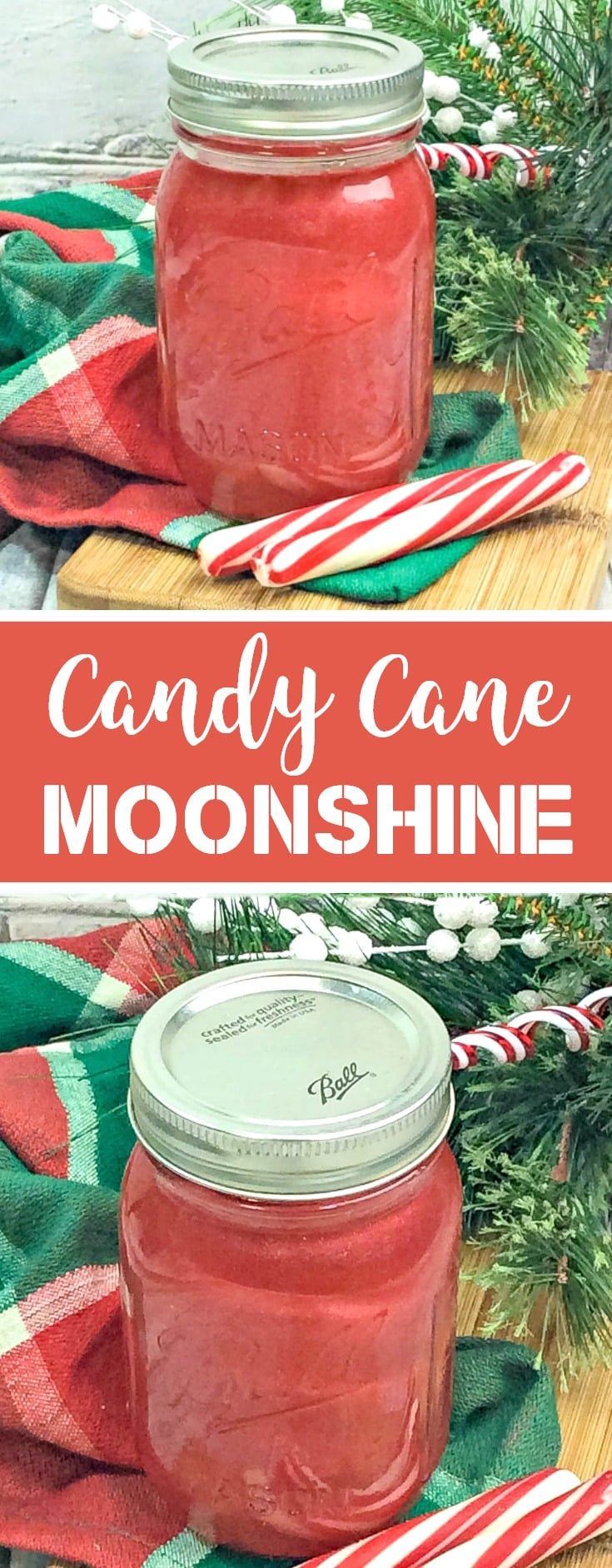 CANDY CANE MOONSHINE RECIPE