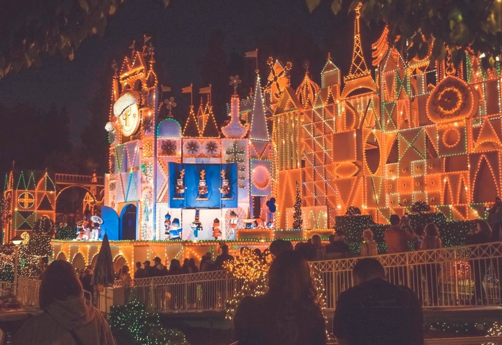 disneyland it's a small world holiday