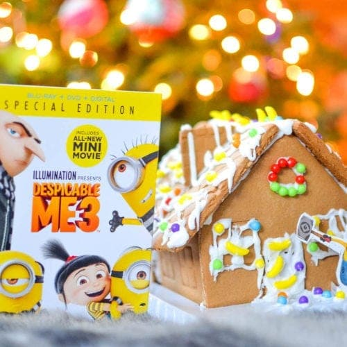 Despicable Me 3 gingerbread house movie