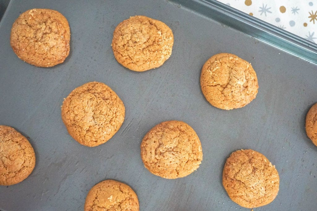 Grandma's Molasses Crinkle Cookies