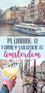 planning family vacation amsterdam