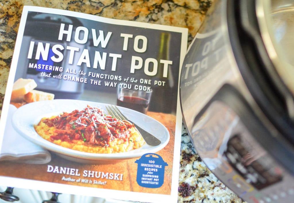 how to instant pot cookbook