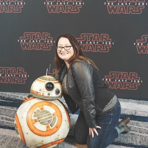 bb-8 photo opp star wars press day