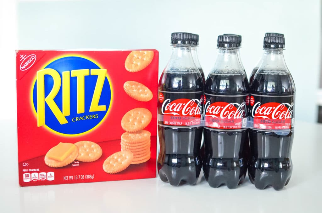 Coca-Cola Zero Sugar and Original Ritz Crackers from Walmart