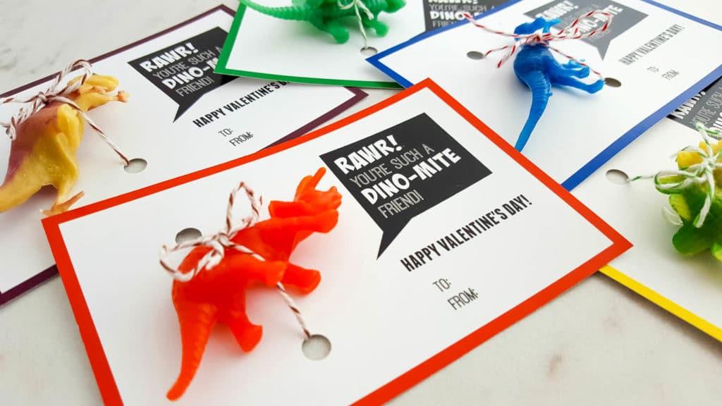 dinosaur valentine's day cards