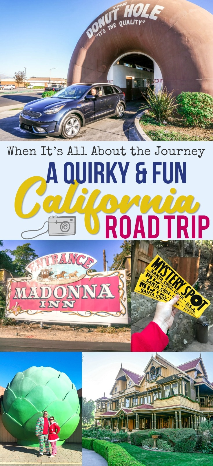 When It's All About the Journey - A Quirky California Road Trip in the Kia Niro PHEV