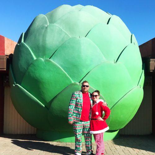 The World's Largest Artichoke