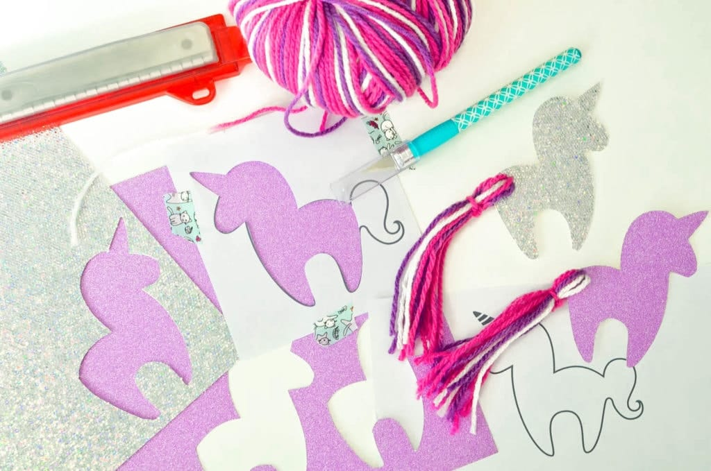 free printable unicorn bookmark