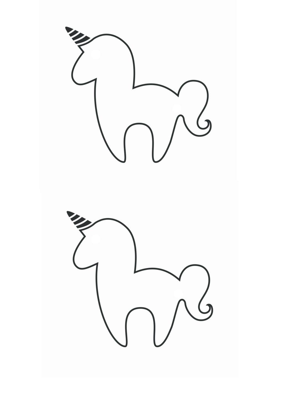 DIY Unicorn Bookmark With Free Printable