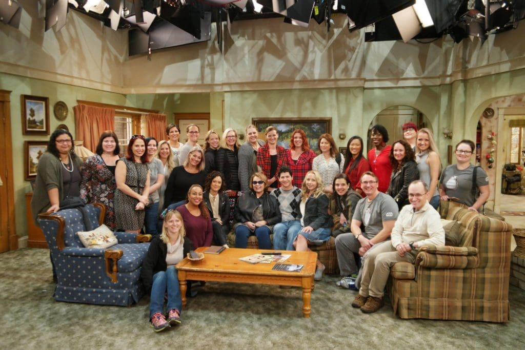 new roseanne group cast photo