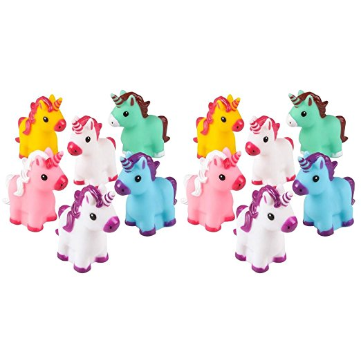 mini rubber unicorns