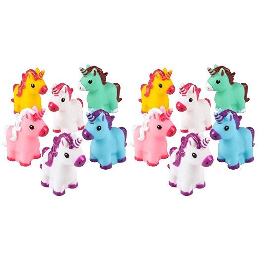 mini rubber unicorns