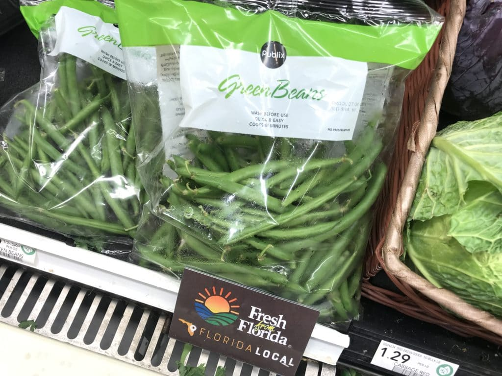 fresh from florida green beans