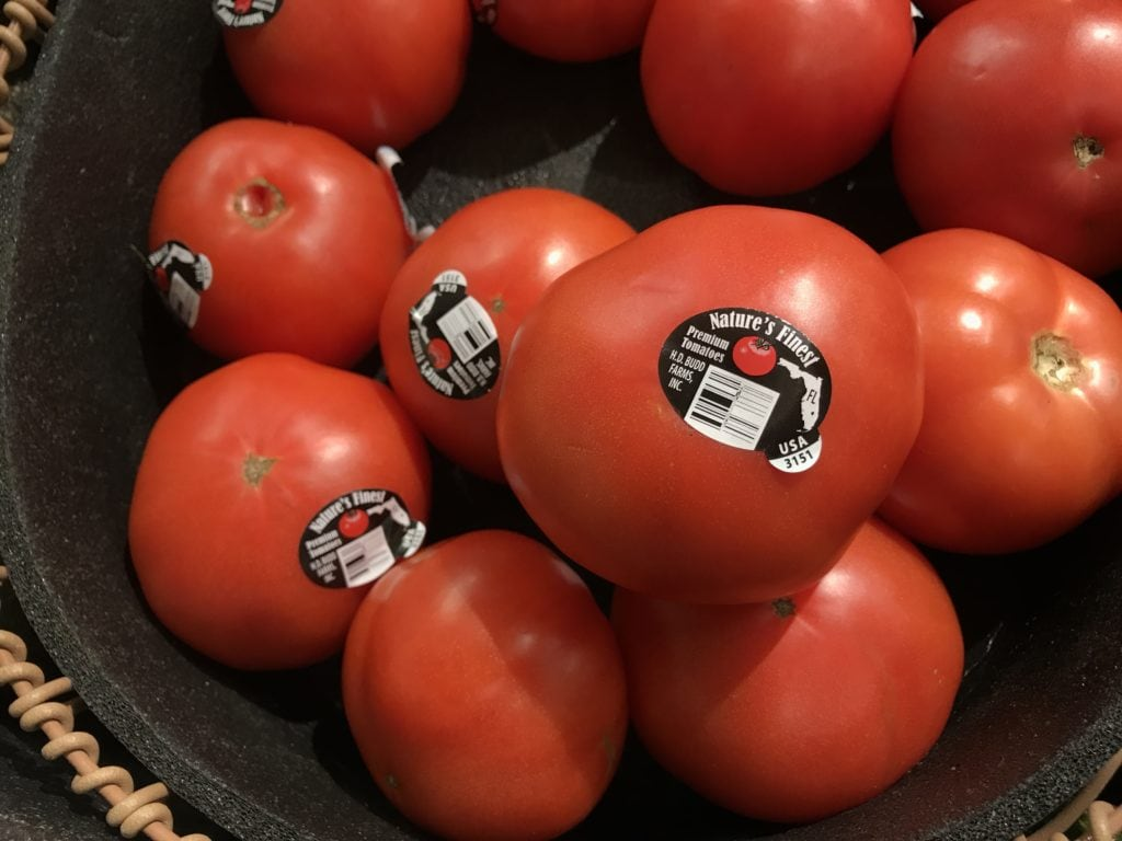 fresh from florida tomatoes