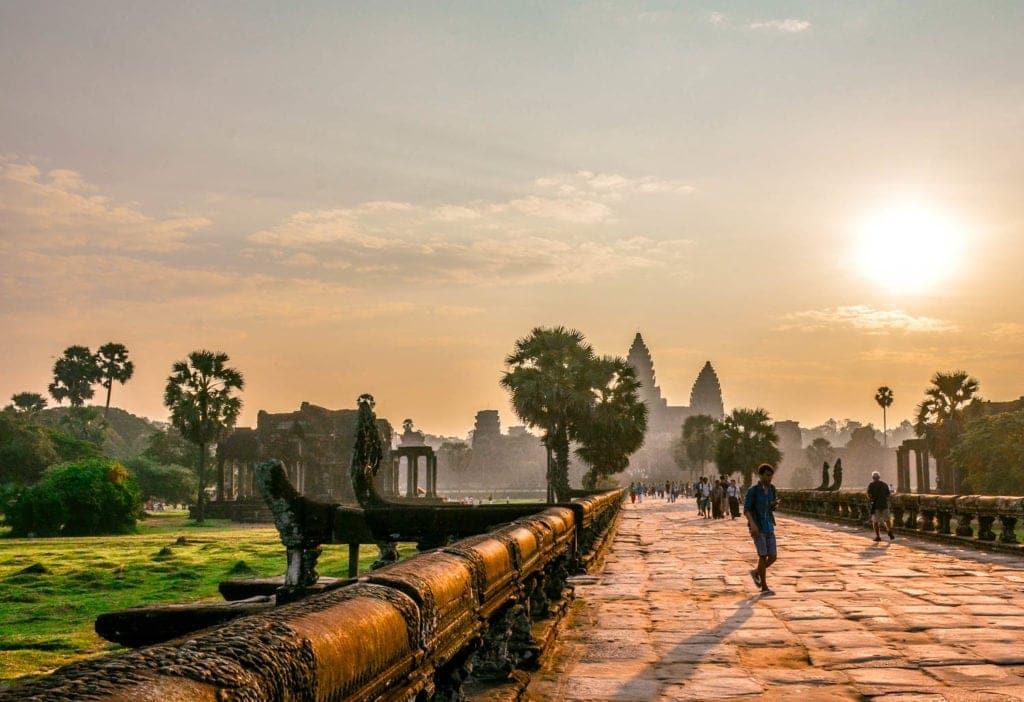 angkor way sunrise